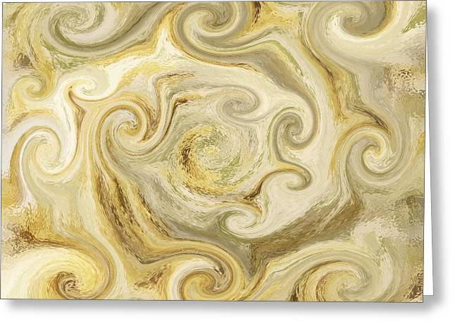 Golden Blend Greeting Card