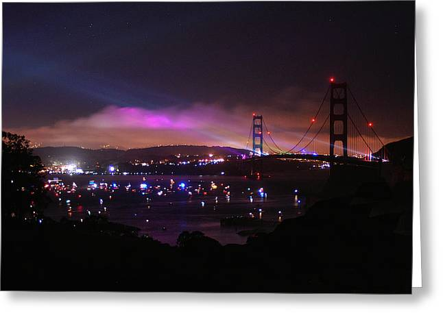 Golden Gate 75th Anniversary 1 Greeting Card