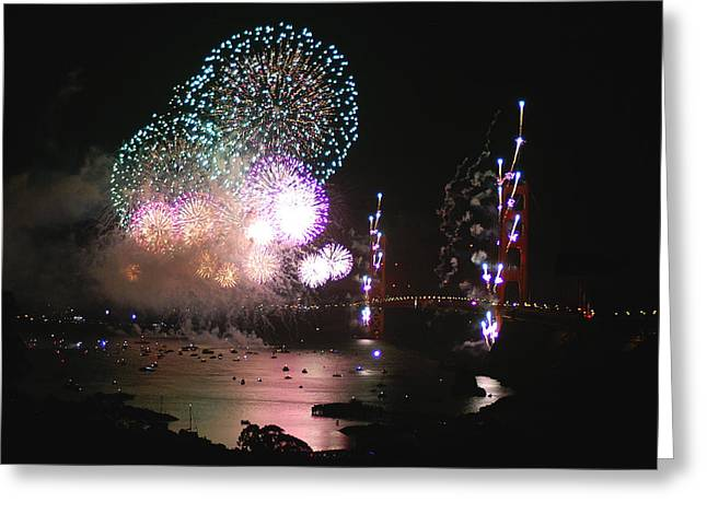 Golden Gate 75th Anniversary 3 Greeting Card