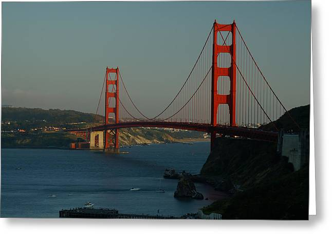 Golden Gate At 75 Greeting Card