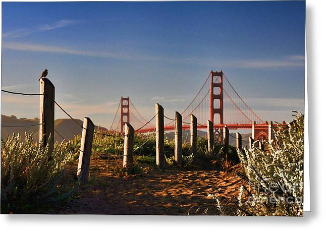 Golden Gate Bridge - 2 Greeting Card