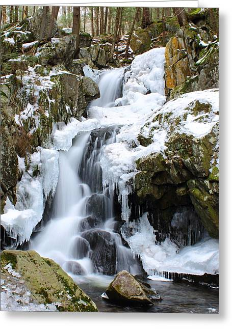 Goldmine Falls Greeting Card