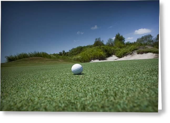 Golf 1 Greeting Card by Al Hurley