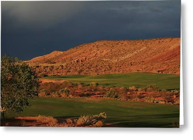 Golfers  Dream Greeting Card
