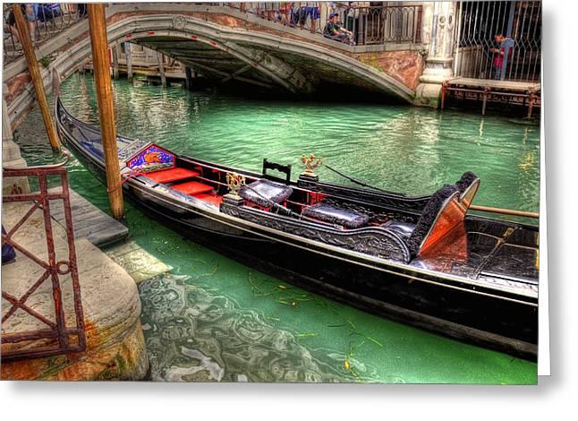 Gondola Song Greeting Card