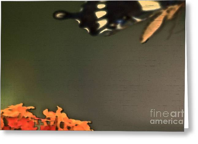 Gone But Not Forgotten Greeting Card by Kim Henderson