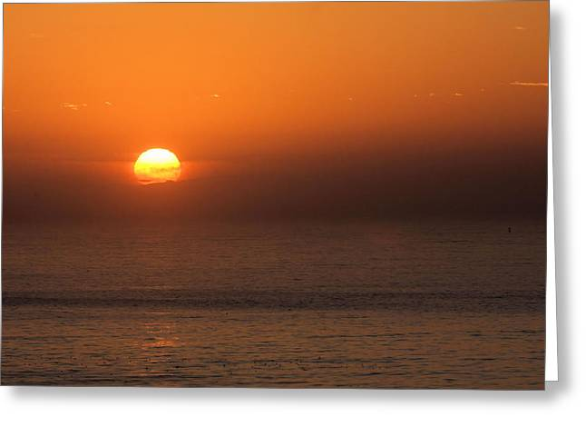 Good Morning California Greeting Card