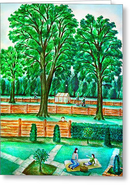 Good Neighbours Greeting Card by Ronald Haber