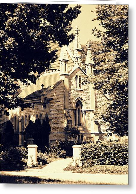 Gothic Chapel Greeting Card