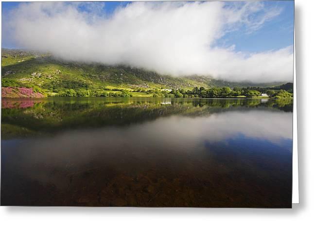 Gougane Barra Lake In West Cork County Greeting Card