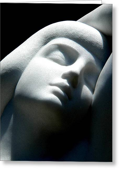 Grace At Peace Greeting Card by Jeff Lowe