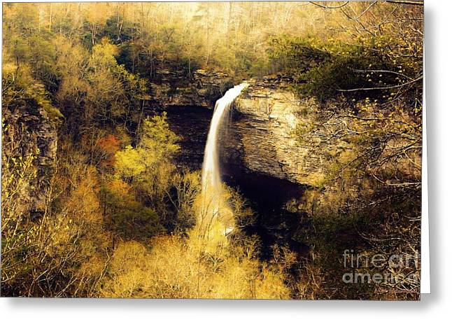 Grace Falls Greeting Card