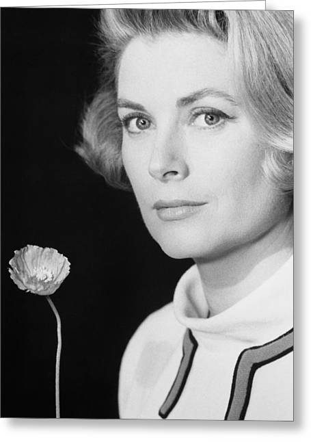 Grace Kelly (1928-1982) Greeting Card by Granger