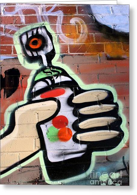 Graffiti 4 Greeting Card by Sophie Vigneault