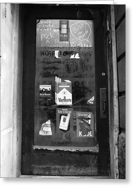 Grafitti - York Greeting Card by Jan W Faul