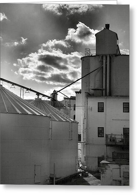 Grain Mill I Greeting Card by Steven Ainsworth