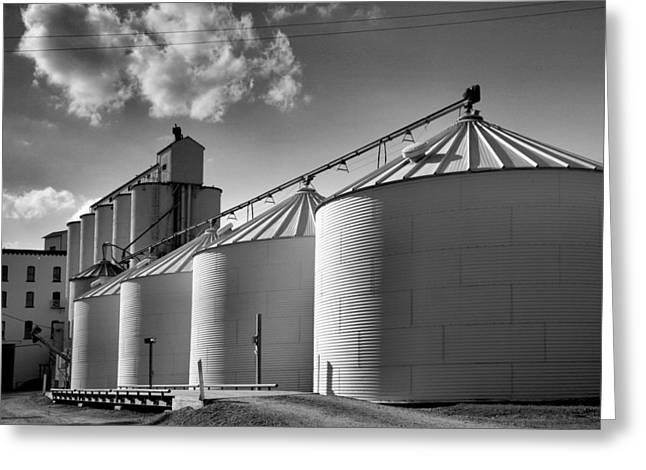Grain Mill II Greeting Card by Steven Ainsworth