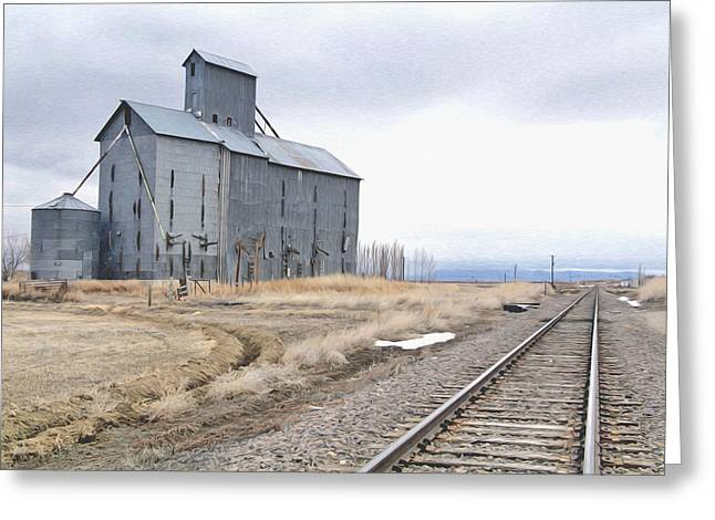 Grain Mill In Loveland Co. Greeting Card by James Steele