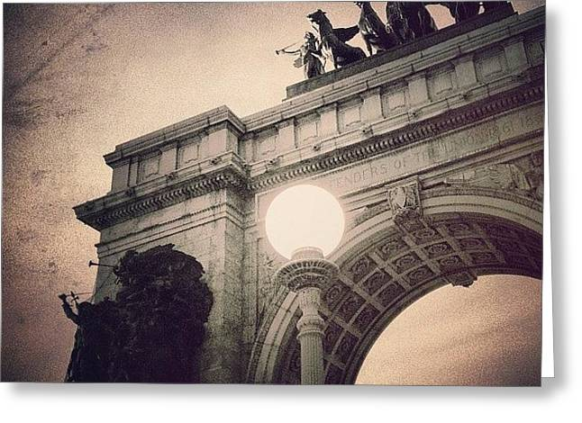 Grand Army Plaza Arch -  Brooklyn Ny Greeting Card