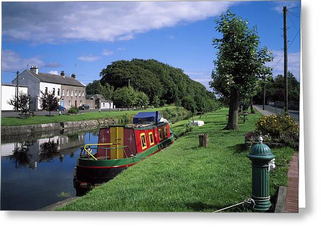 Grand Canal, Sallins, Co Kildare Greeting Card