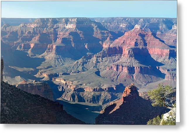 Greeting Card featuring the photograph Grand Canyon - South Rim by Rod Seel