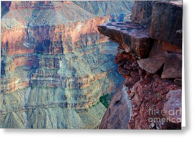 Grand Canyon A Place To Stand Greeting Card by Bob Christopher