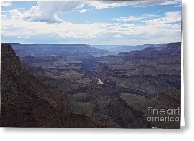 Grand Canyon As Seen From Lipan Point Greeting Card