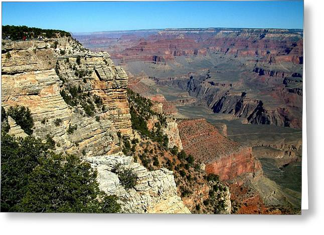 Grand Canyon B Greeting Card by Dottie Gillespie