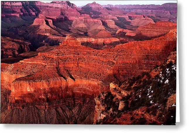 Grand Canyon Greeting Card by James Bethanis