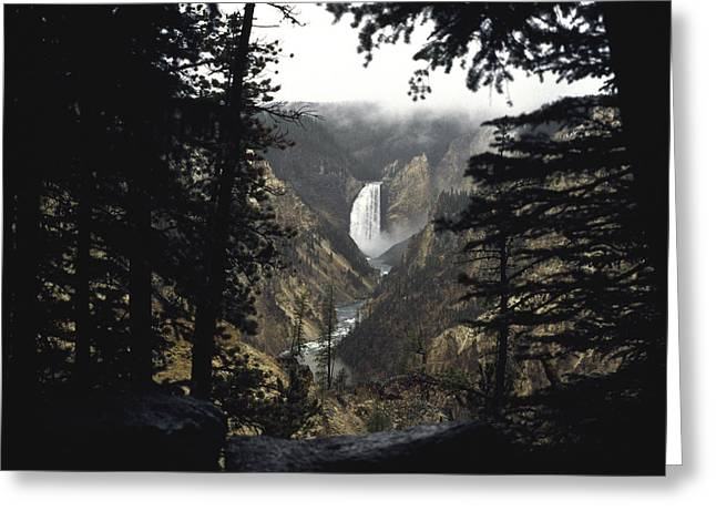 Greeting Card featuring the photograph Grand Canyon Of The Yellowstone  by J L Woody Wooden