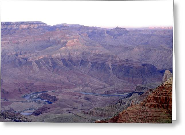 Grand Canyon Pastiche Greeting Card
