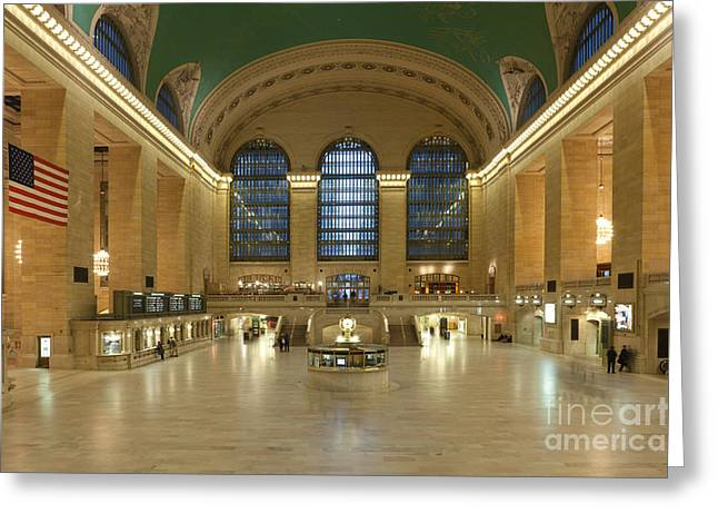 Grand Central Terminal I Greeting Card by Clarence Holmes