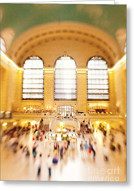 Grand Central Terminal New York City Greeting Card by Kim Fearheiley