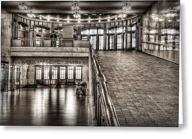 Grand Central Terminal Greeting Card by Nicholas Palmieri