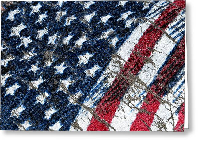Grand Ol' Flag Greeting Card by Bill Owen