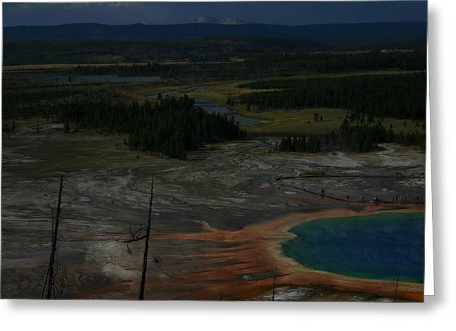 Grand Prismatic Spring Yellowstone National Park Greeting Card