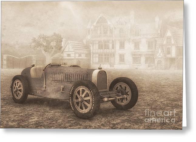 Grand Prix Racing Car 1926 Greeting Card by Jutta Maria Pusl