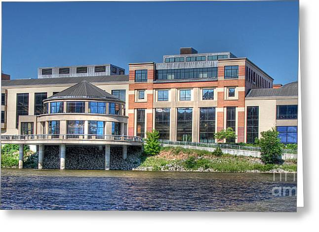 Grand Rapids Museum Greeting Card by Robert Pearson