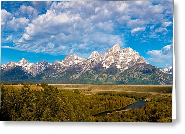 Grand Teton Vista Greeting Card