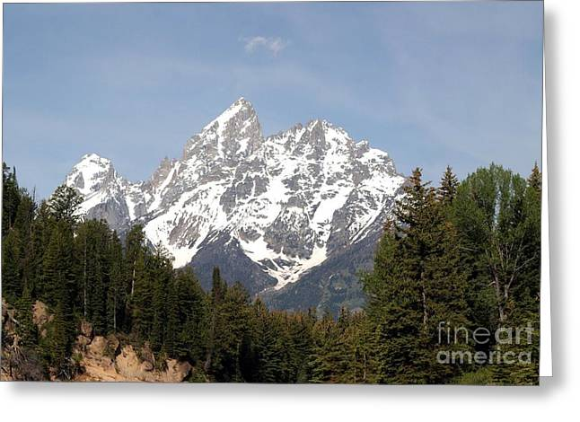 Grand Tetons Greeting Card by Living Color Photography Lorraine Lynch