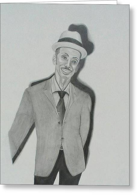 Granddaddy Greeting Card by Zendre Strother