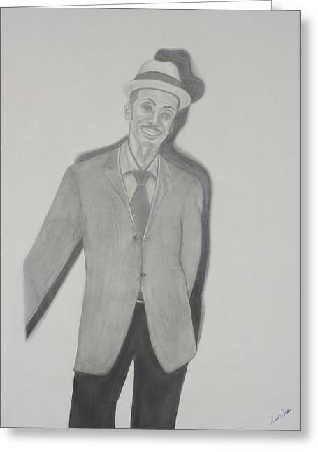Granddaddy2 Greeting Card by Zendre Strother