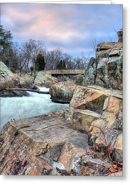 Granite Greeting Card by JC Findley