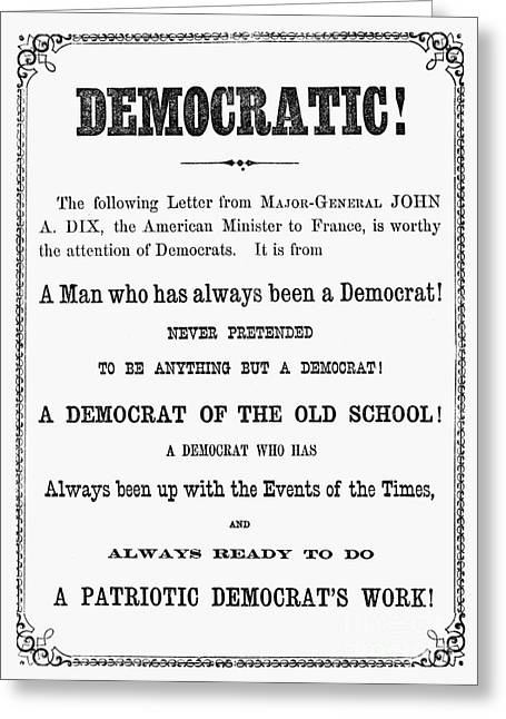 Grant: Election Of 1868 Greeting Card