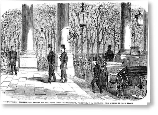 Grants Inauguration, 1869 Greeting Card