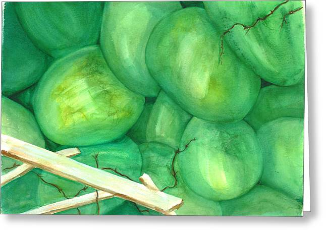Grapes Of Writhe Greeting Card