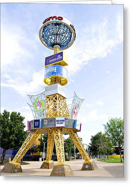 Grapevine Mills Sign  Greeting Card
