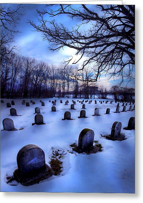 Grave Matters Greeting Card