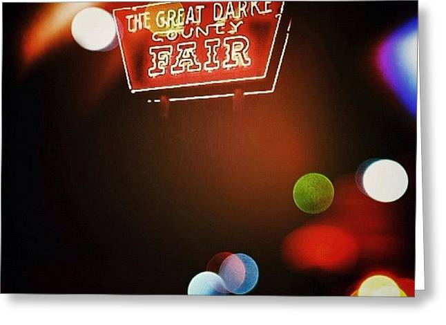 Great Darke County Fair Greeting Card