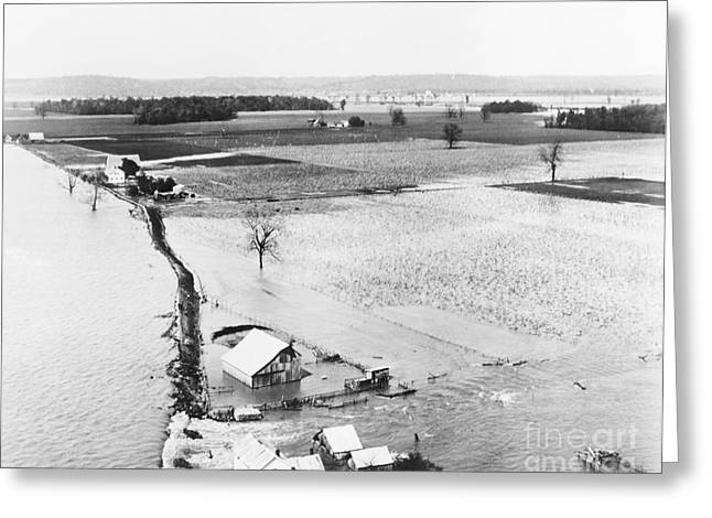 Great Mississippi Flood, 1927 Greeting Card